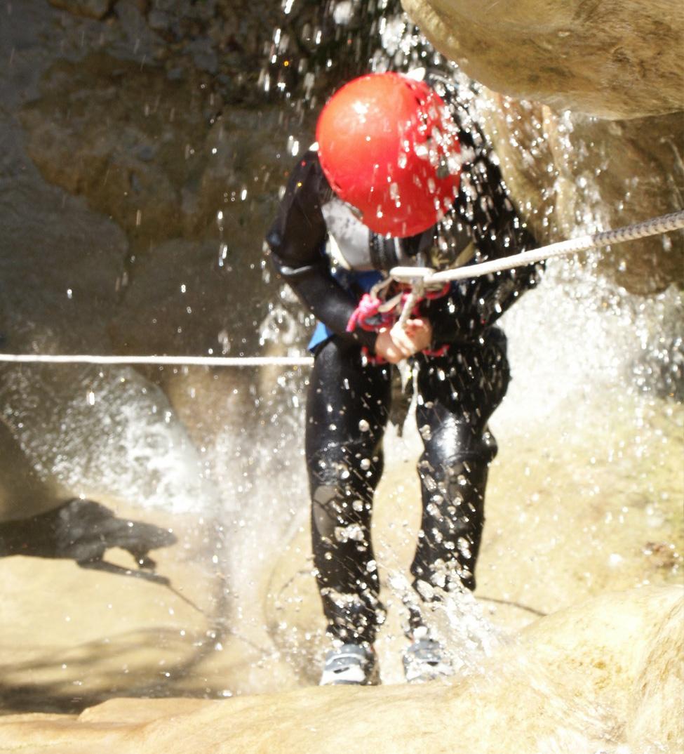 Descente en canyoning, Drôme enfants